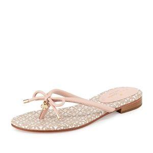 Kate Spade Mistic Bow Flat Thong Sandal NWOB
